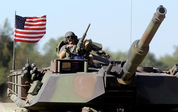 Впервые за долгое время в Европу приехали танки США