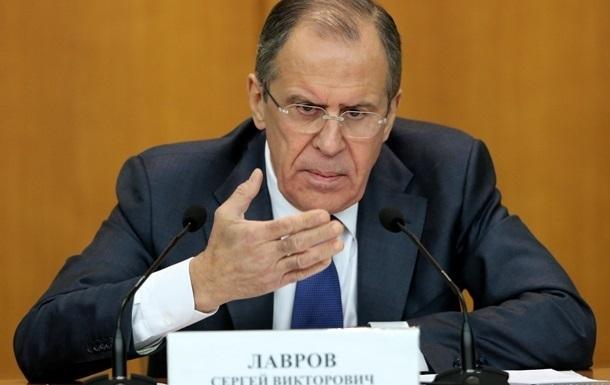 Лавров:  Ополченцы  должны быть признаны стороной переговоров