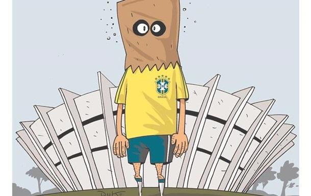 Позор, стыд и траур: какими вышли обложки бразильских газет