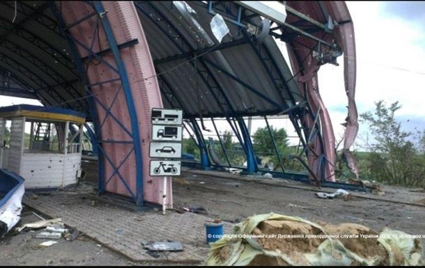 Российских таможенников КПП Донецк эвакуировали из-за стрельбы в Украине