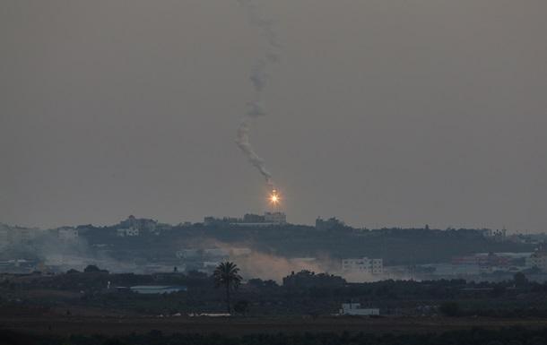 За пять дней по территории Израиля выпустили 809 ракет