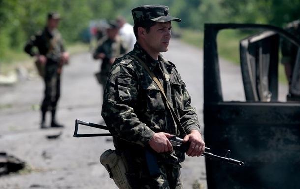 Утром  ополченцы  обстреляли блокпосты сил АТО, трое погибших
