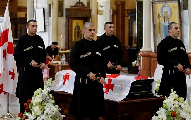В Грузии завершилась церемония прощания с Эдуардом Шеварднадзе