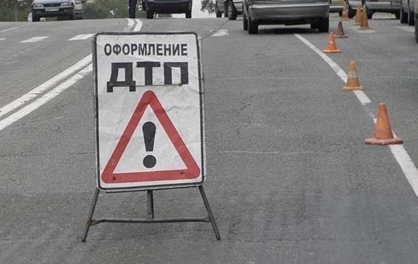 В Киеве на мосту Патона в ДТП попали семь автомобилей