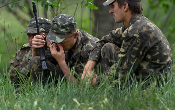 В зоне АТО за сутки погибли шесть украинских военных