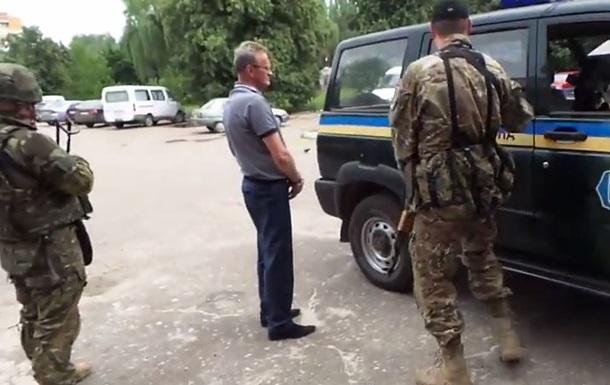 В Славянске задержали и.о. мэра Самсонова