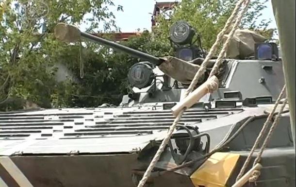 В Бердянске усиливают блокпосты на автодорогах
