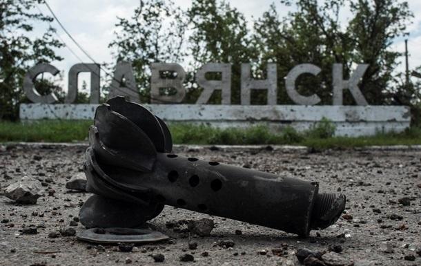 Ущерб от разрушений в Славянске оценен в 1,5 миллиарда гривен