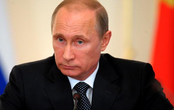 Путин призвал не перекладывать на Россию ответственность за кровь в Украине