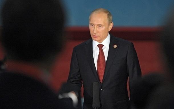 Путин считает, что МВФ должен приостановить кредитование Украины