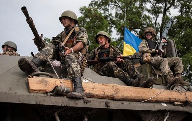 В бою возле Дмитровки и Степановки ранено более 30 силовиков