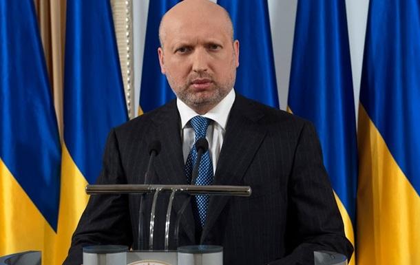 Турчинов призвал мир предоставить Украине военную помощь