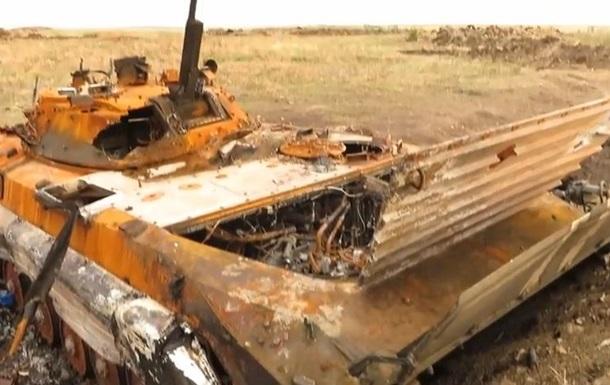 В сети появилось видео разбитых позиций сил АТО под Краснодоном