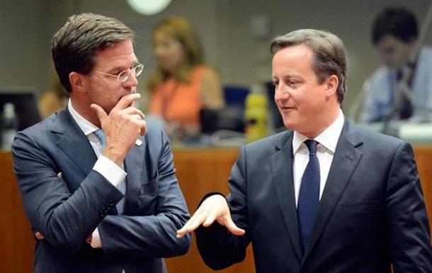Британия и Нидерланды требуют от ЕС пересмотра отношения к России