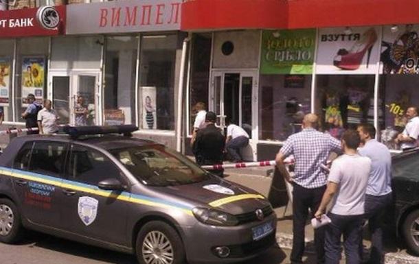 В Киеве директор ювелирного магазина застрелил грабителя