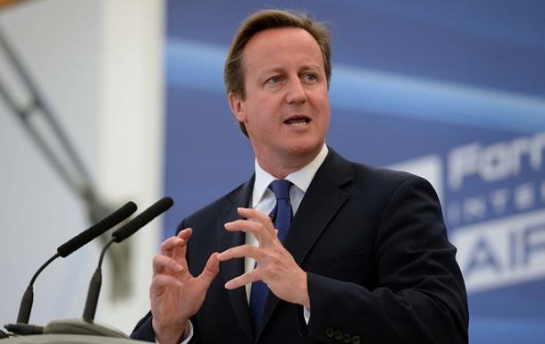 Премьер-министр Великобритании призвал ЕС к новым санкциям против России