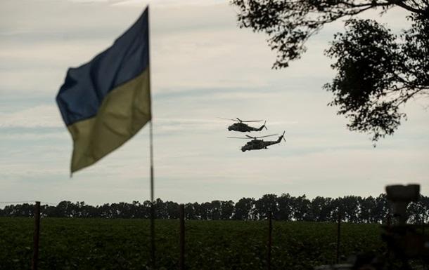 Украинских военных дважды обстреляли из  Града