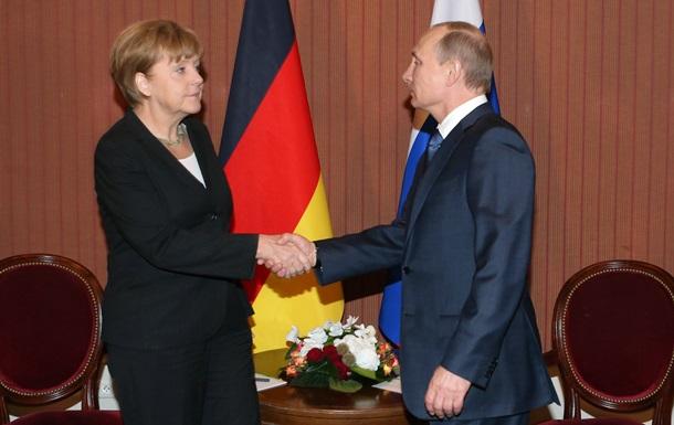 Опрос: Немцы за торговые санкции в отношении России