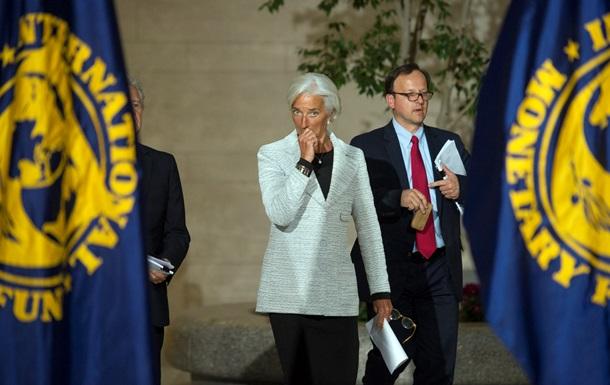 МВФ: Украинский кризис нанес ущерб мировой экономике