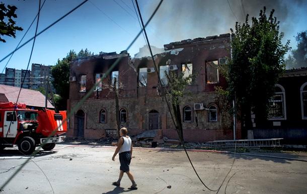 В ночь на 26 июля в Луганске продолжились бои