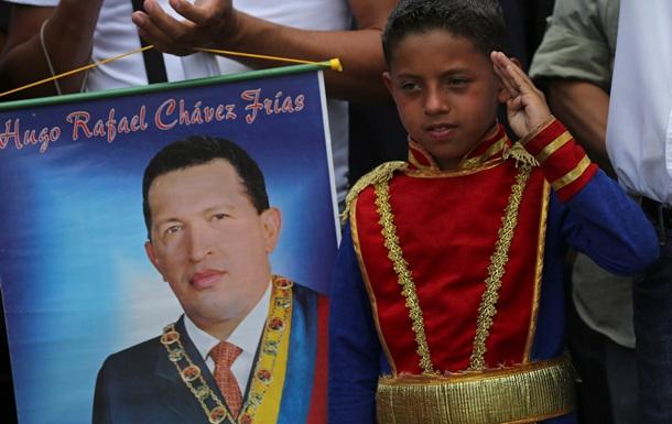 Соцпартия Венесуэлы провозгласила Уго Чавеса своим вечным лидером