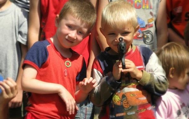 Крестики-нолики для детей Донбасса.