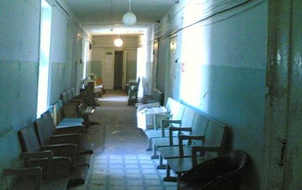 Луганск. Последствия обстрела. Больница. Видео