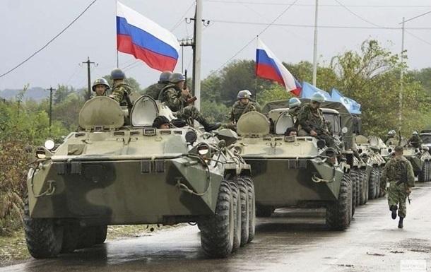Карта российских войск на границе с Украиной