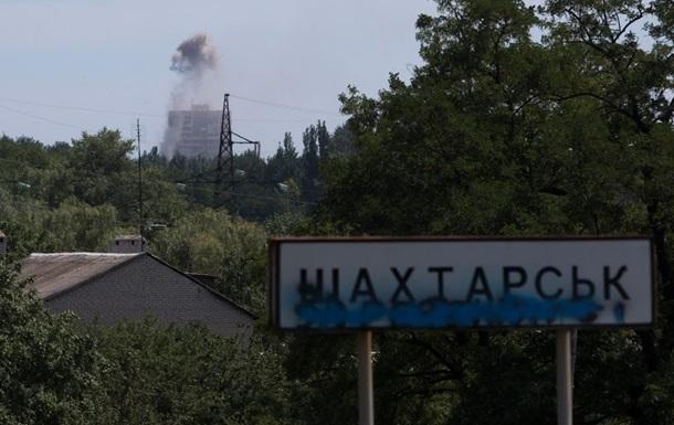 В Шахтерске колонна десантников попала в засаду, погибли 14 человек – штаб АТО