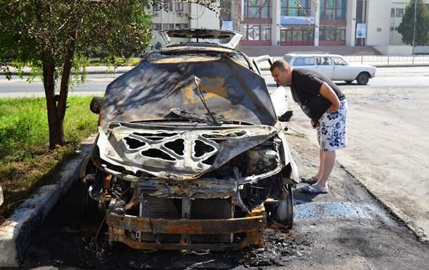 В Харькове сожгли авто руководителя местной Свободы