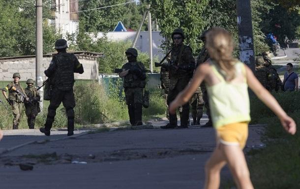 Жители Лисичанска рассказали об АТО в городе