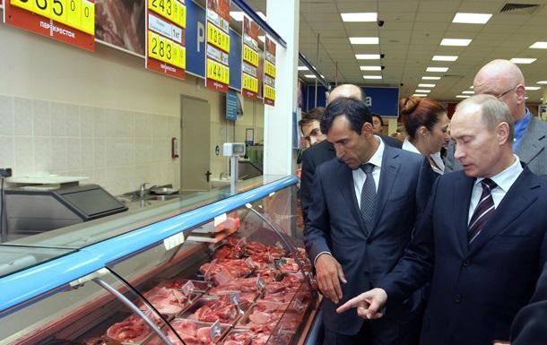 Путин запретил импорт продуктов из стран, применивших к России санкции