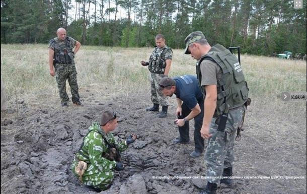Украинские пограничники предоставили ОБСЕ доказательства обстрелов из России