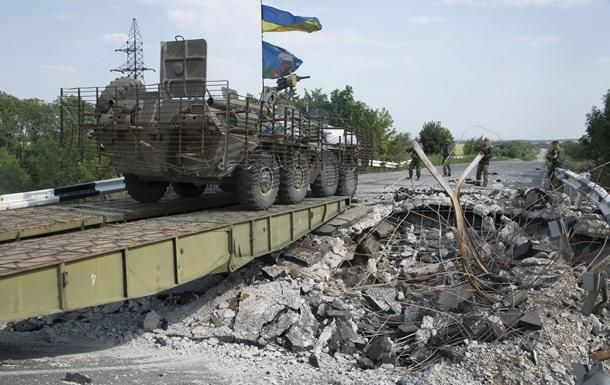 Армия Украины продолжит свою стратегию в Донбассе