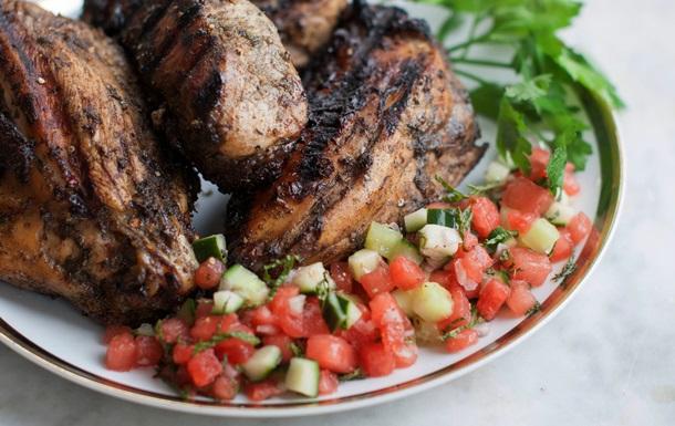 На углях. Пять легких блюд для летнего гриля