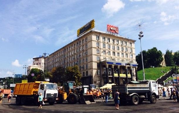 В Киеве восстановлено движение почти на всех центральных улицах