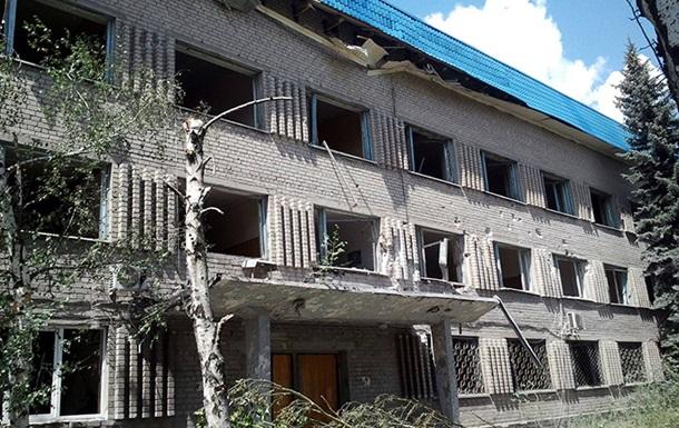 В Донецке продолжается артобстрел