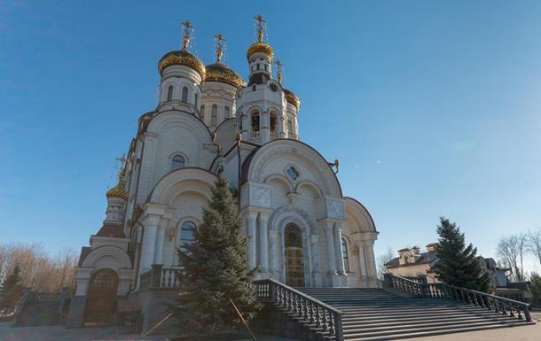 В Горловке снаряд попал на территорию кафедрального собора