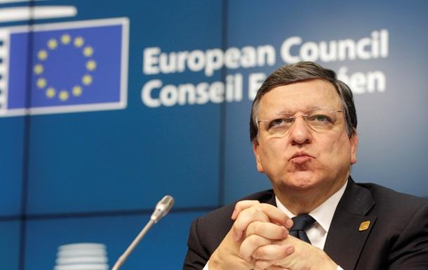 Баррозу предостерег Путина от любых действий в Украине, в том числе гуманитарных