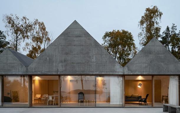 Бетонный дом без кондиционера. Как должна выглядеть современная дача