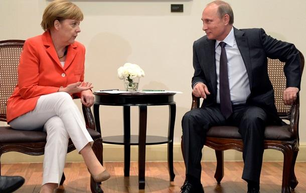 Канцлер Германии намерена продолжать диалог с президентом России
