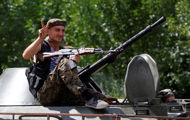 Пятерых украинских военнослужащих осободили из плена сепаратистов