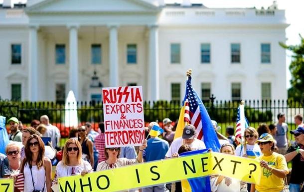 В США украинская диаспора провела Марши единства