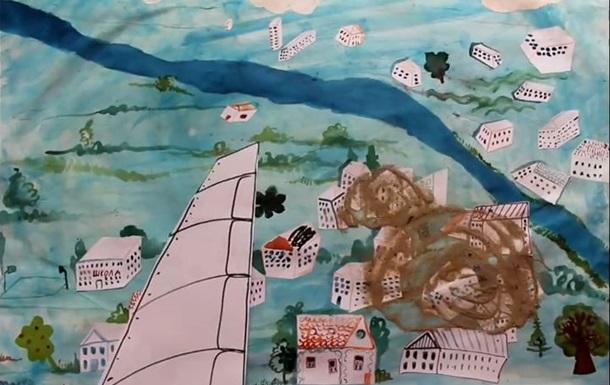 В России детям показывают мультфильм о бомбежке Донбасса украинской авиацией