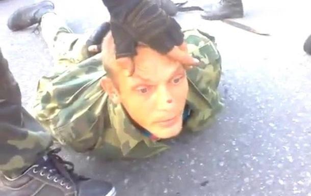 Украинские военные взяли в плен  ополченцев
