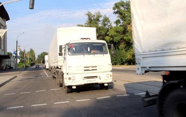 Гуманитарный конвой РФ въехал в Луганск