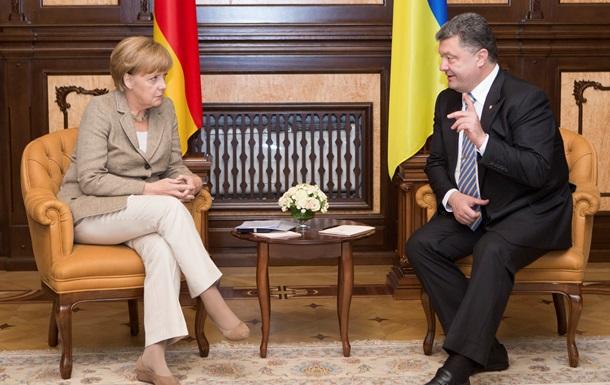 Итоги 23 августа: визит Ангелы Меркель в Киев и убийство почетного консула Литвы