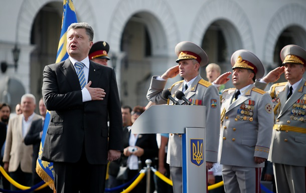 На Майдане начался военный парад ко Дню Независимости: онлайн-трансляция
