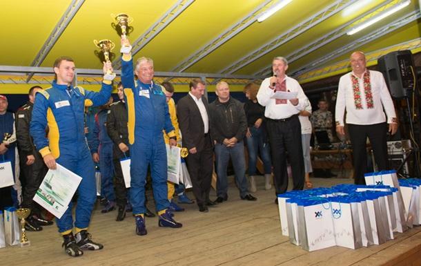В чемпионате Украины по ралли  - досрочный победитель