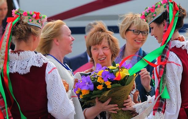 Глава ЕС Эштон в Минске